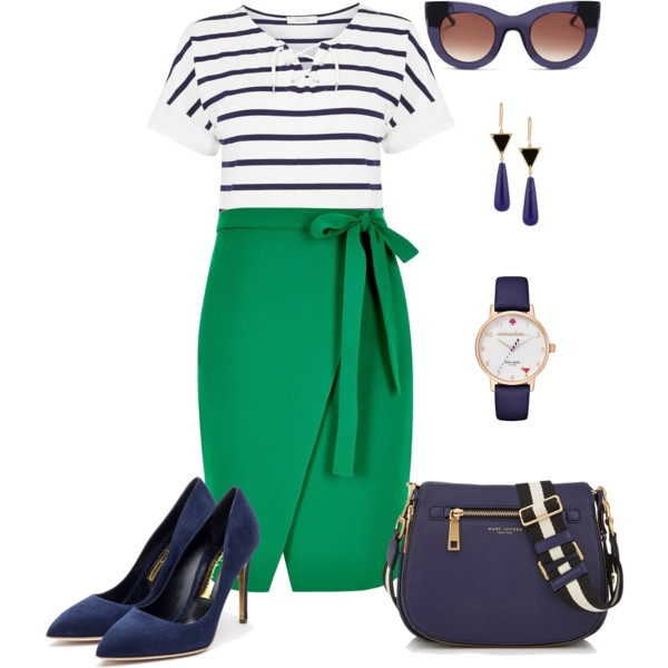 Spring - Green and Navy