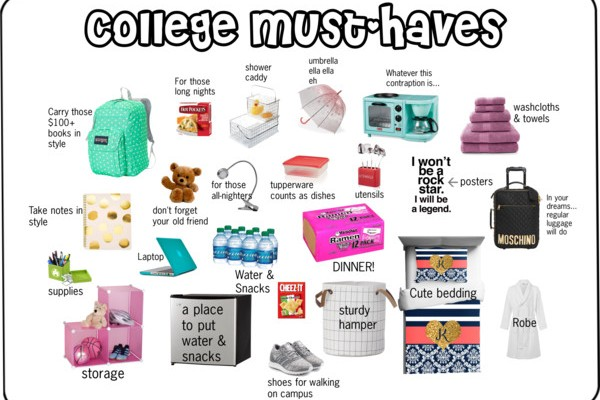 College Must-Haves