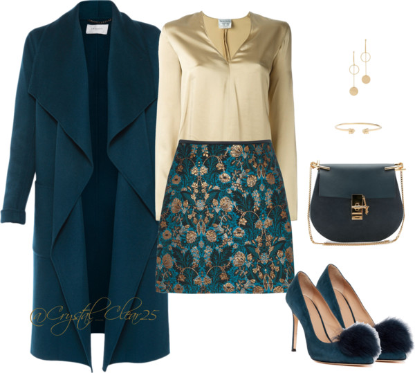 Floral Teal Obsession