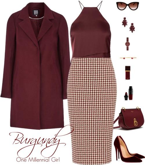 Burgundy Chic