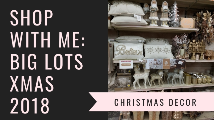 Browse With Me: Big Lots ChristmasDecor