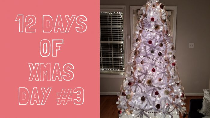 Decorating the Christmas tree Part 2 | Vlogmas