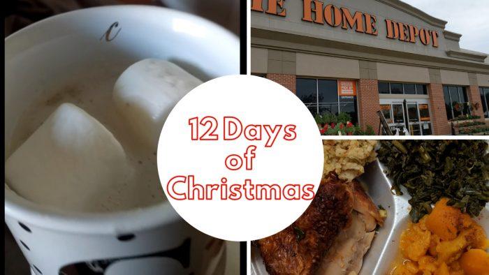 Vlogmas 12 Days of Christmas - Day 1